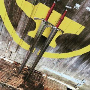 King Solomon medieval Crusader Sword