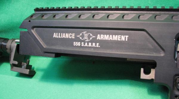 SABRE MAC-10 Upper in 5.56mm
